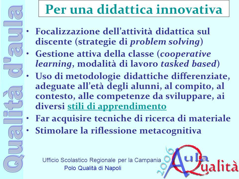 Per una didattica innovativa