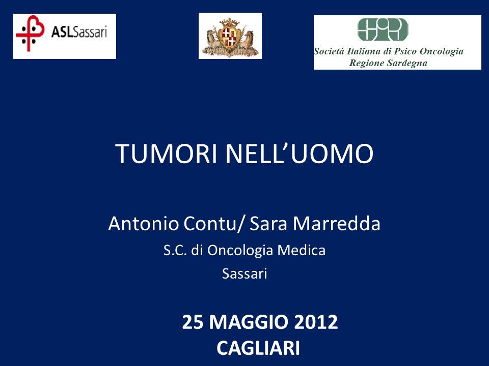 Antonio Contu/ Sara Marredda S.C. di Oncologia Medica Sassari