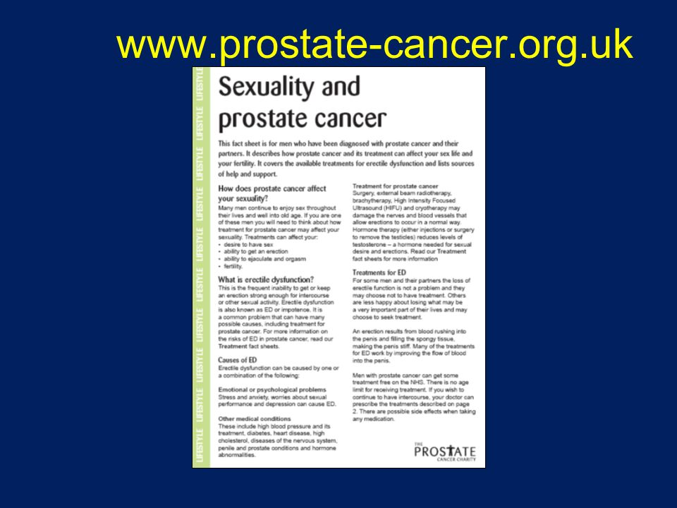 www.prostate-cancer.org.uk