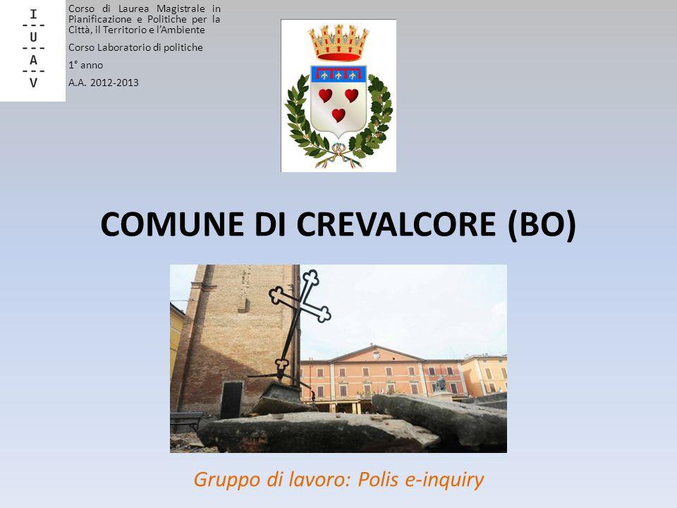 COMUNE DI CREVALCORE (BO)