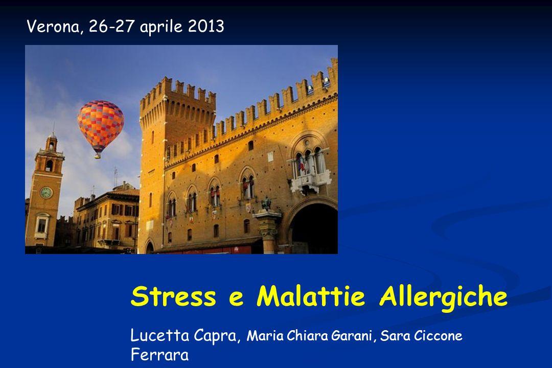 Stress e Malattie Allergiche