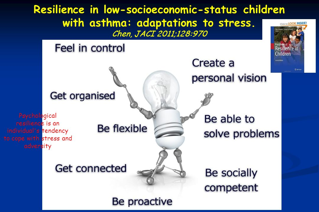 Resilience in low-socioeconomic-status children