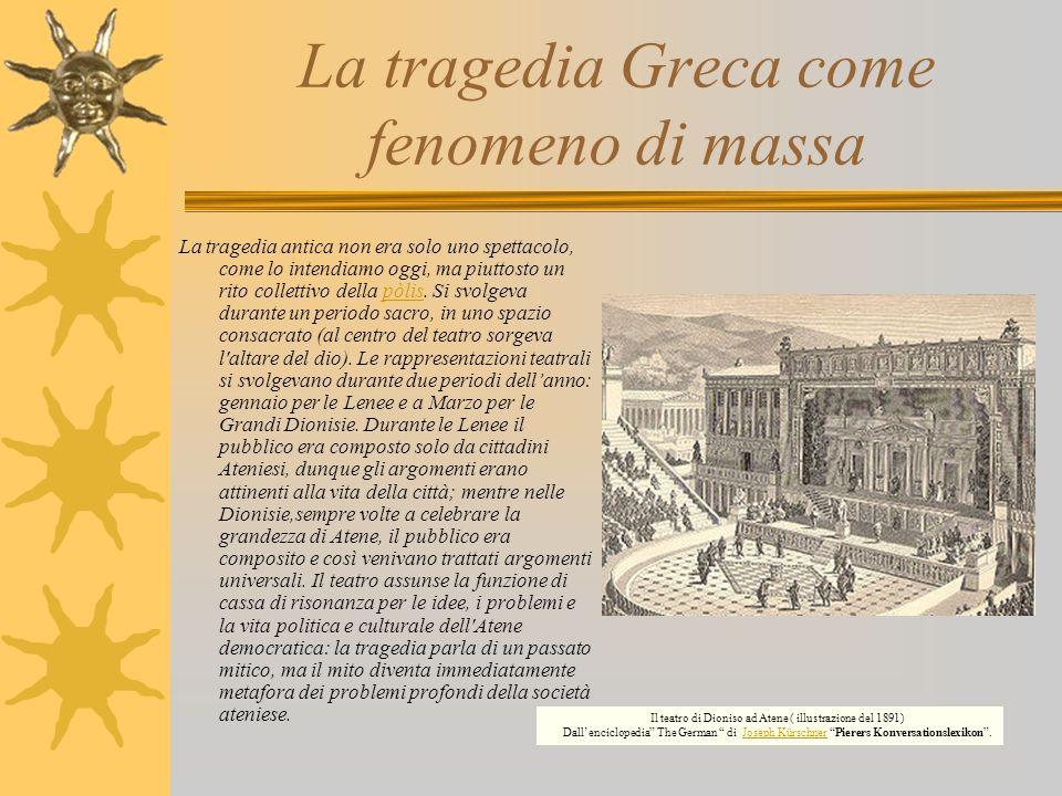 La tragedia Greca come fenomeno di massa