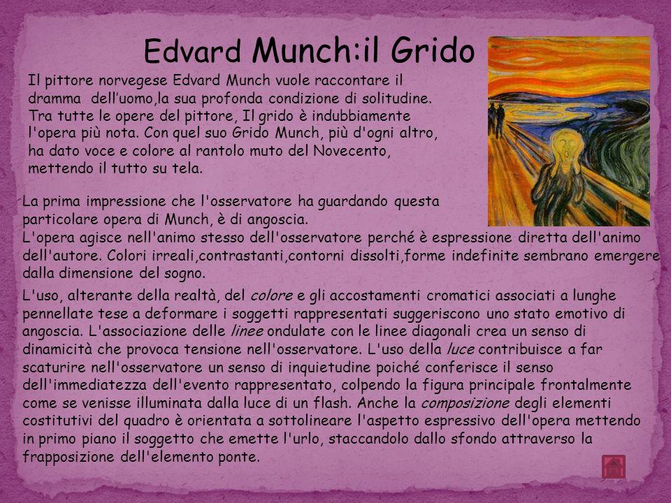 Edvard Munch:il Grido