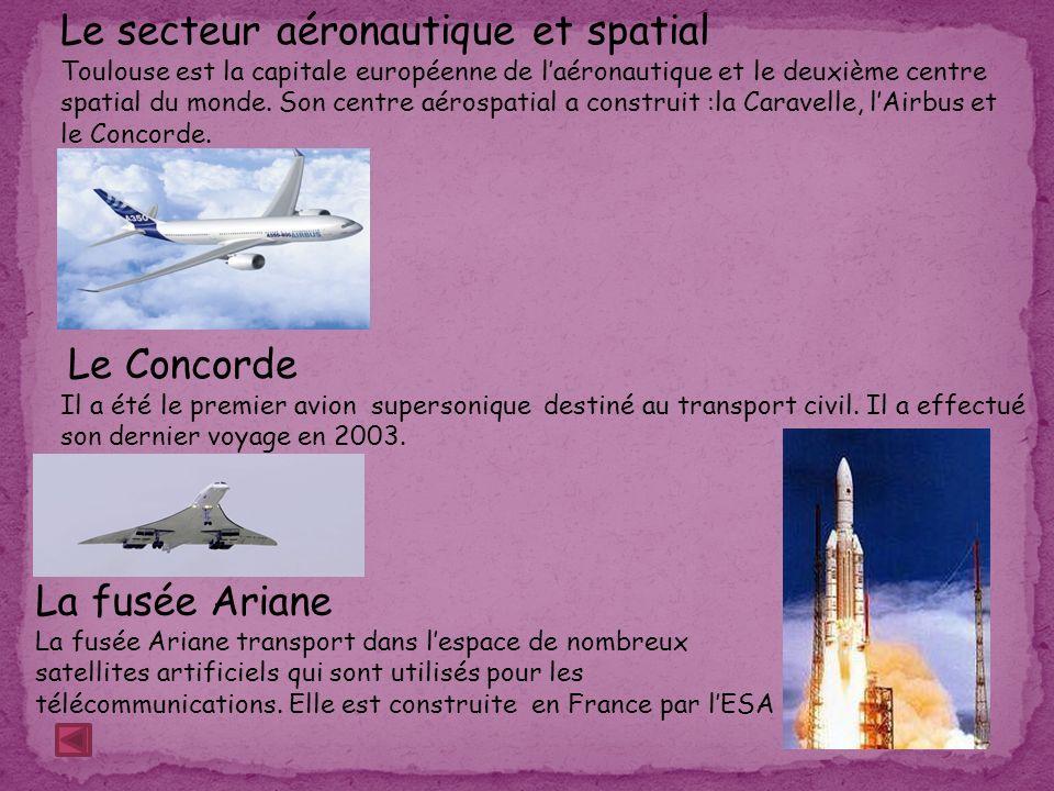 Le secteur aéronautique et spatial
