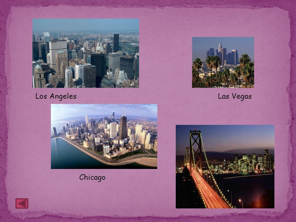 Los Angeles Las Vegas Chicago