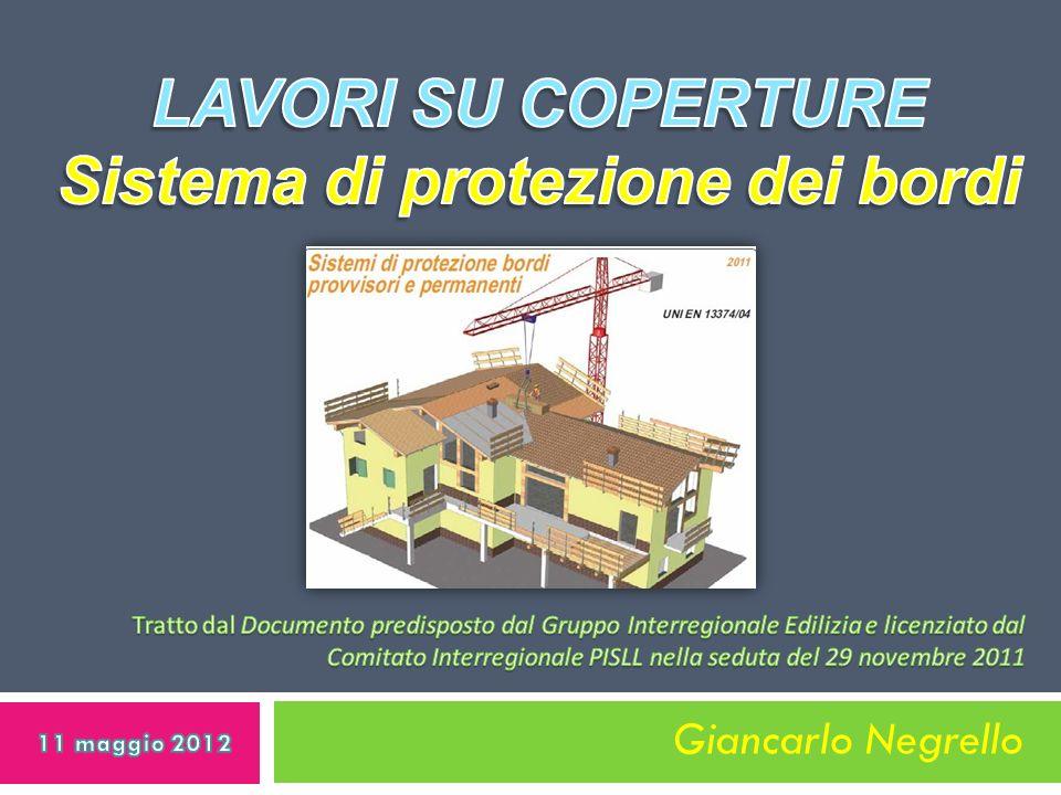 LAVORI SU COPERTURE Sistema di protezione dei bordi