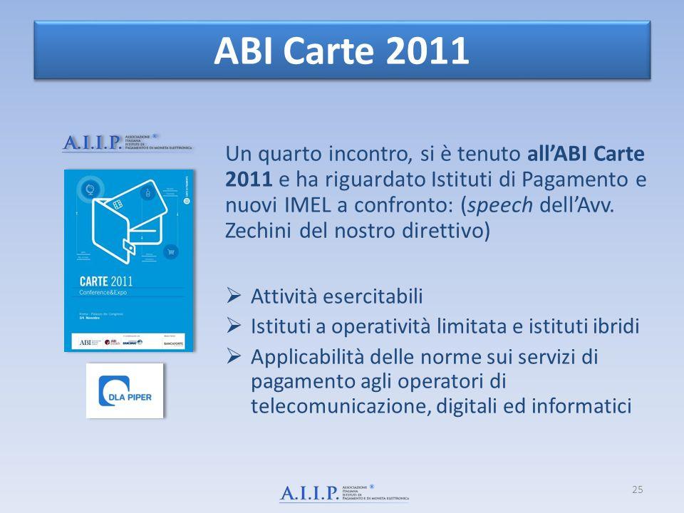 ABI Carte 2011