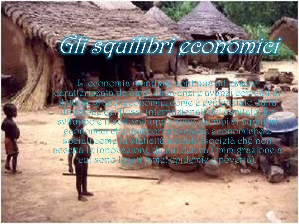 Gli squilibri economici