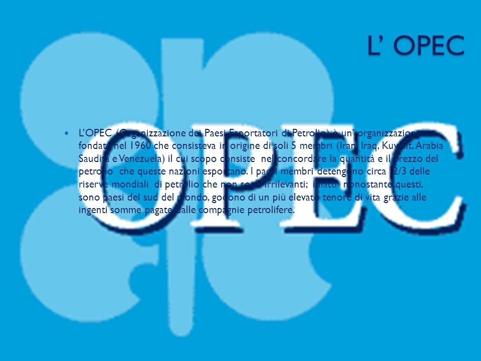L' OPEC