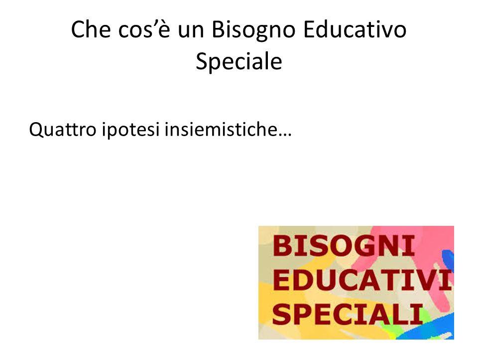 Che cos'è un Bisogno Educativo Speciale