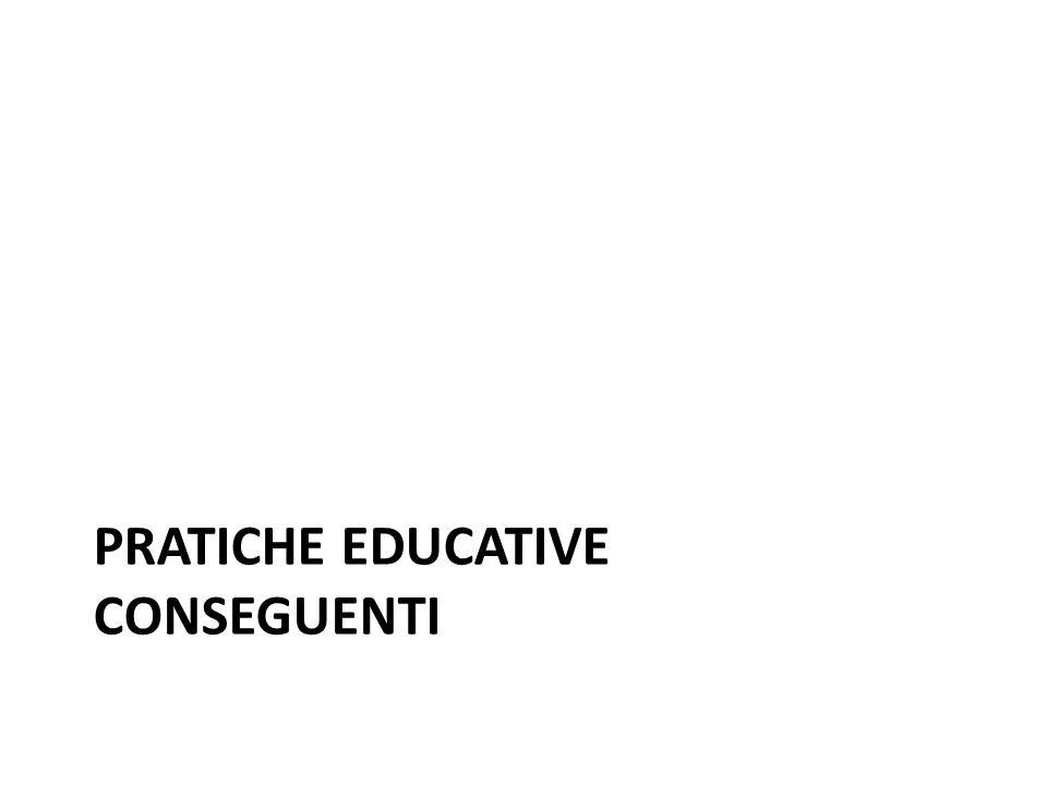 PRATICHE EDUCATIVE conseguenti