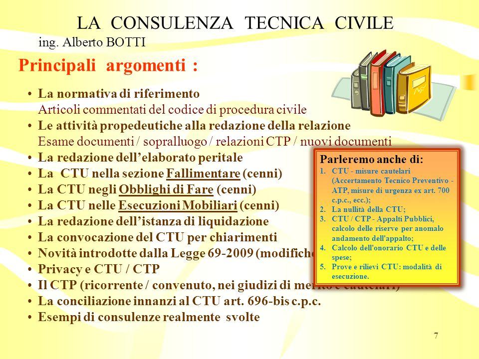 La Consulenza Tecnica Di Ufficio E Di Parte Nel Processo