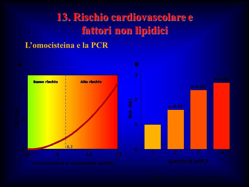 13. Rischio cardiovascolare e fattori non lipidici