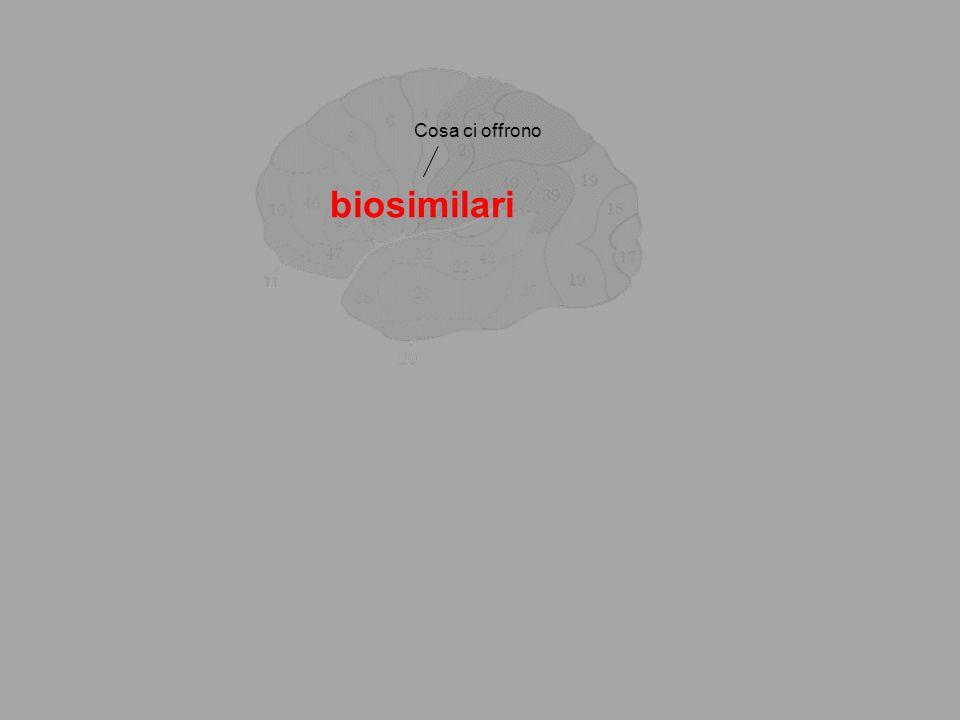 Cosa ci offrono biosimilari