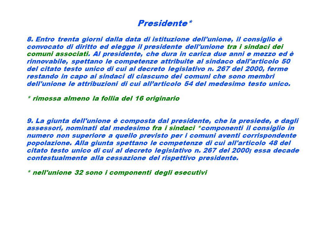 Presidente*