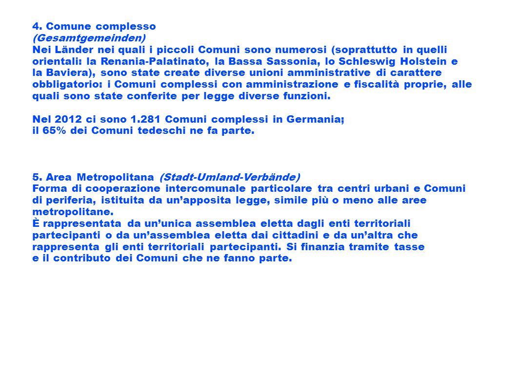 4. Comune complesso (Gesamtgemeinden)