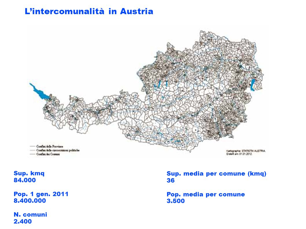 L'intercomunalità in Austria