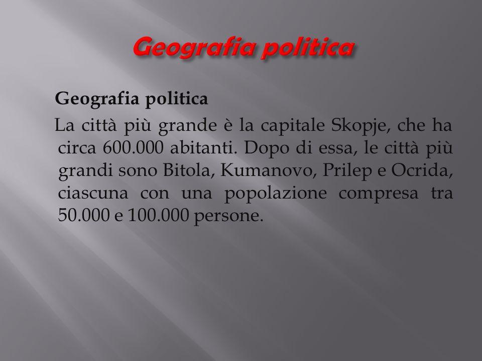 Geografia politica Geografia politica