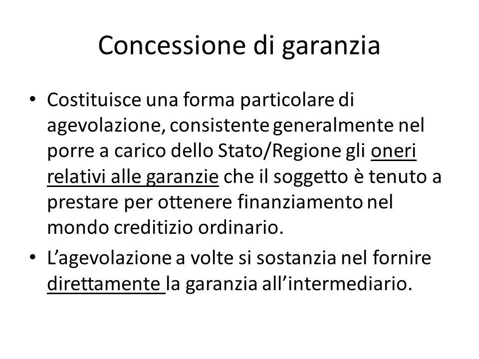 Concessione di garanzia