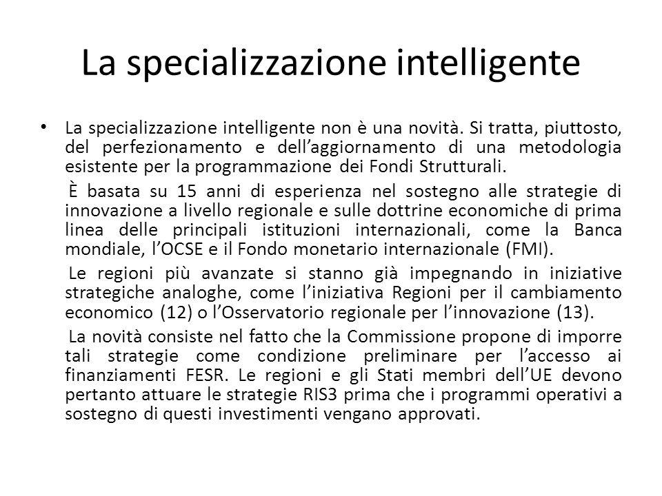 La specializzazione intelligente