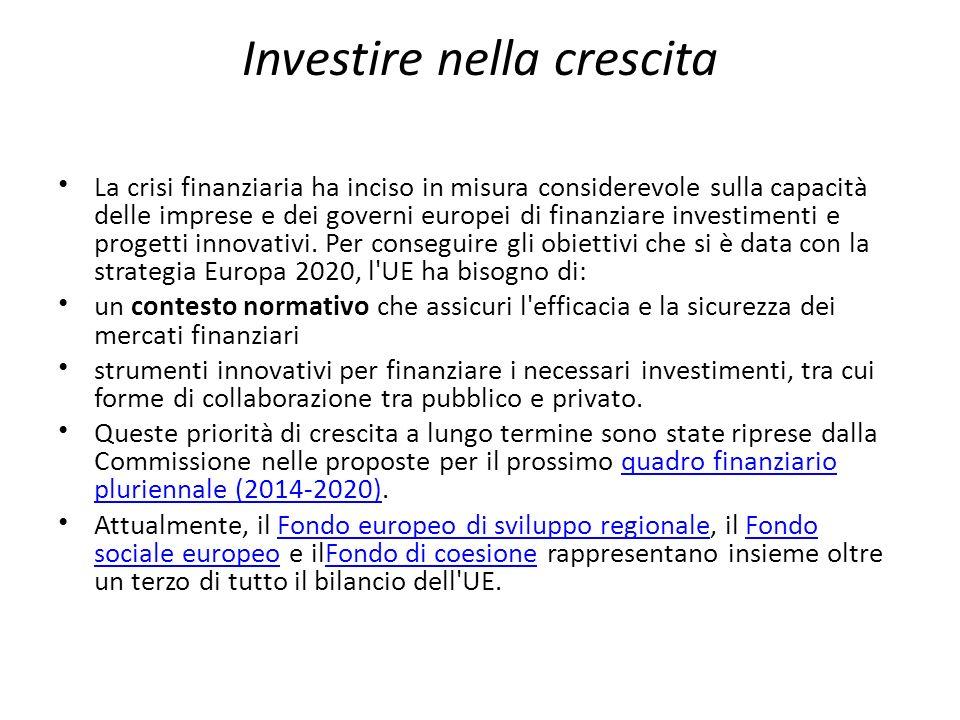 Investire nella crescita