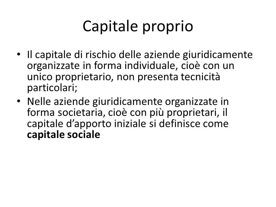 Capitale proprio