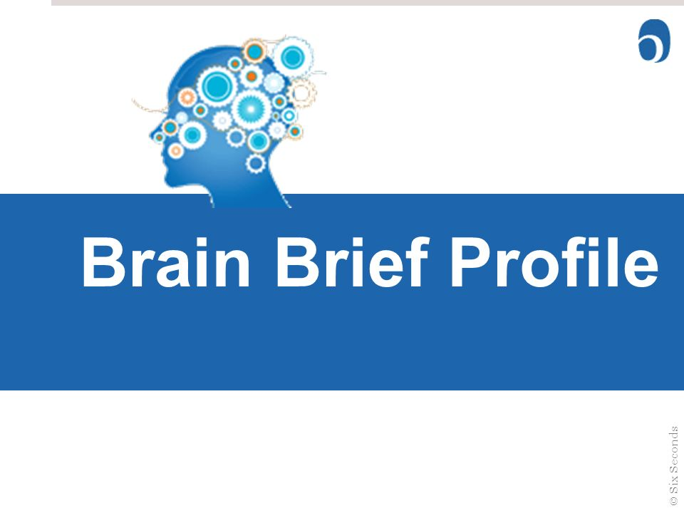 Brain Style Brain Brief Profile Welcome ©Six Seconds