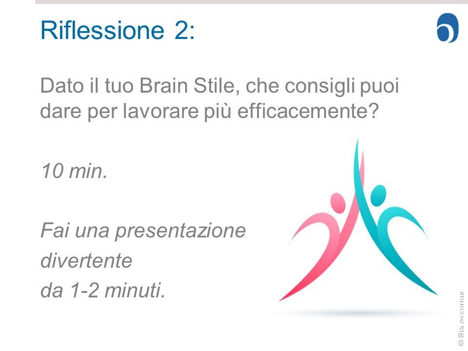 Riflessione 2:Brain Style.