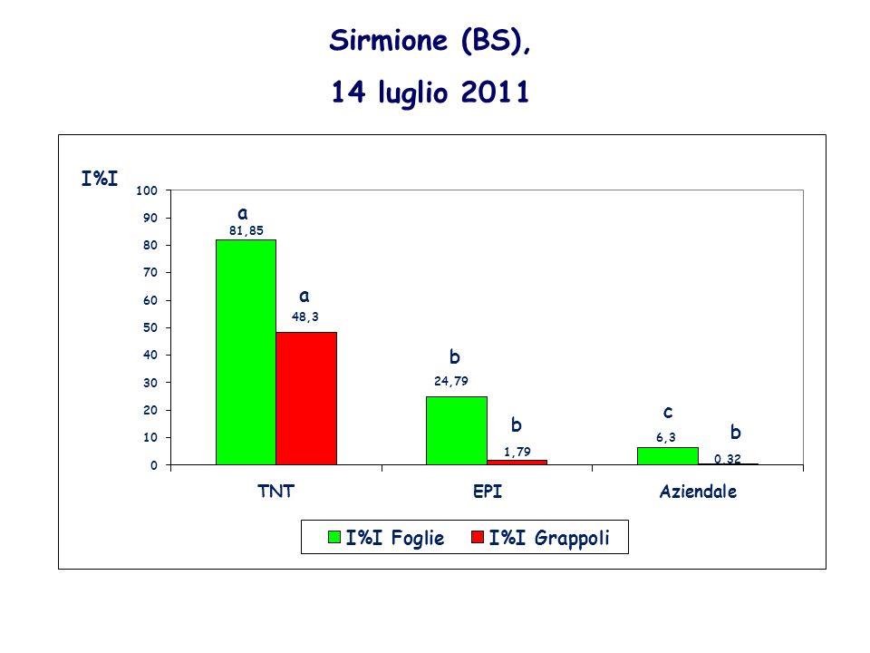 Sirmione (BS), 14 luglio 2011 a a b c b b