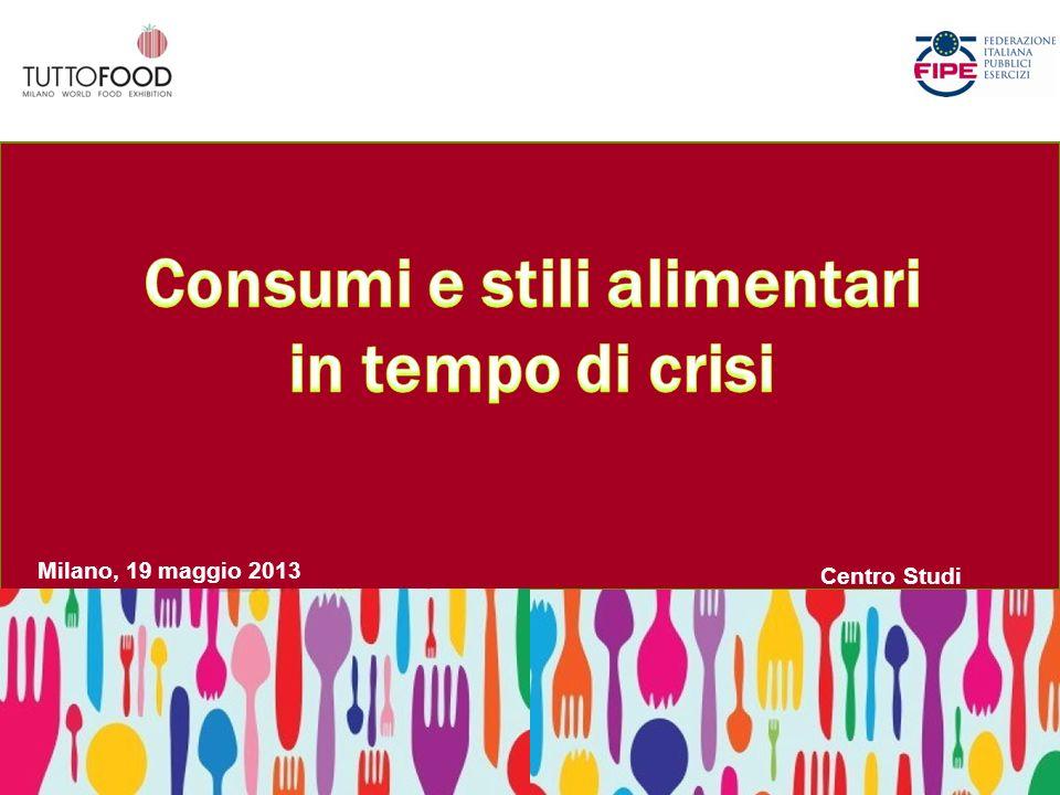 Consumi e stili alimentari