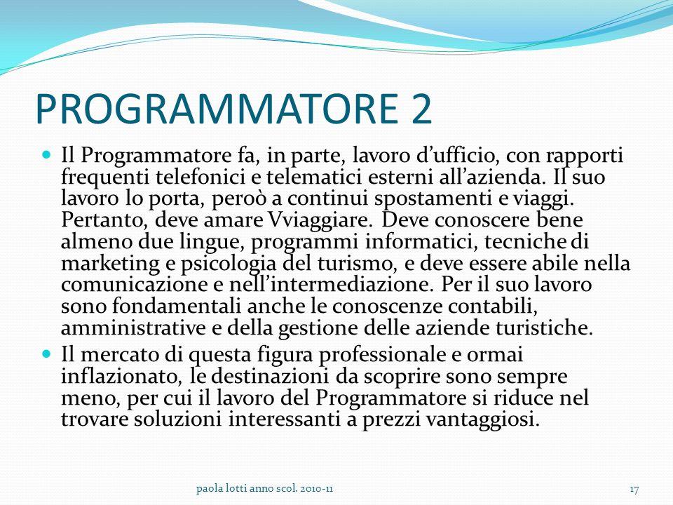 PROGRAMMATORE 2