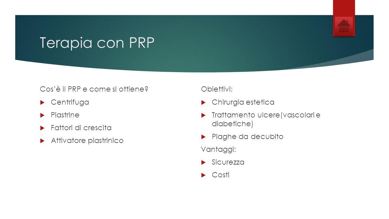 Terapia con PRP Cos'è il PRP e come si ottiene Centrifuga Piastrine