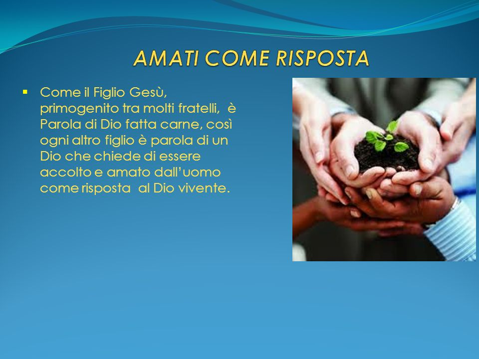 AMATI COME RISPOSTA