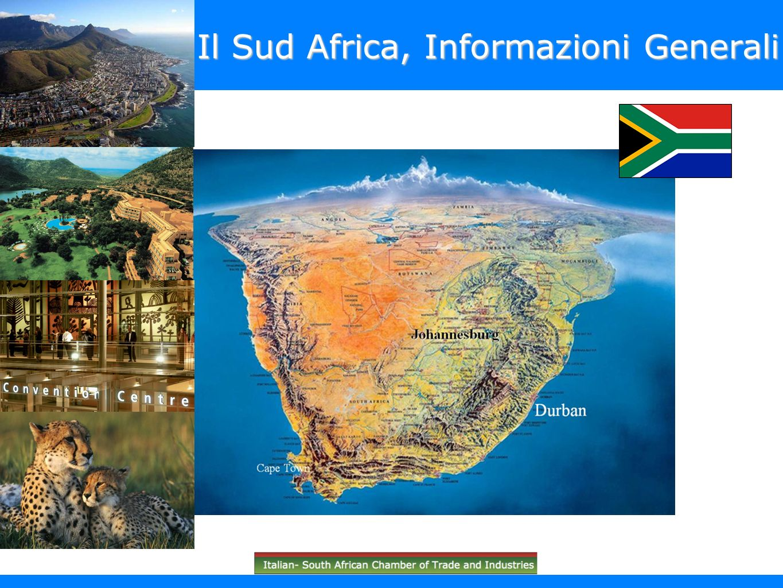 Il Sud Africa, Informazioni Generali