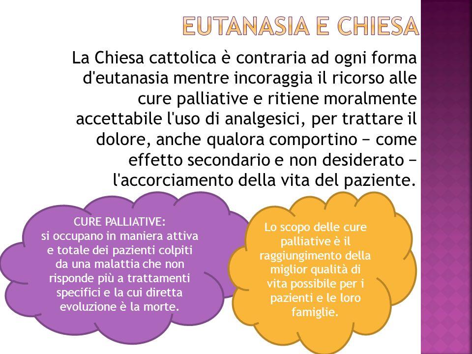 EUTANASIA E CHIESA