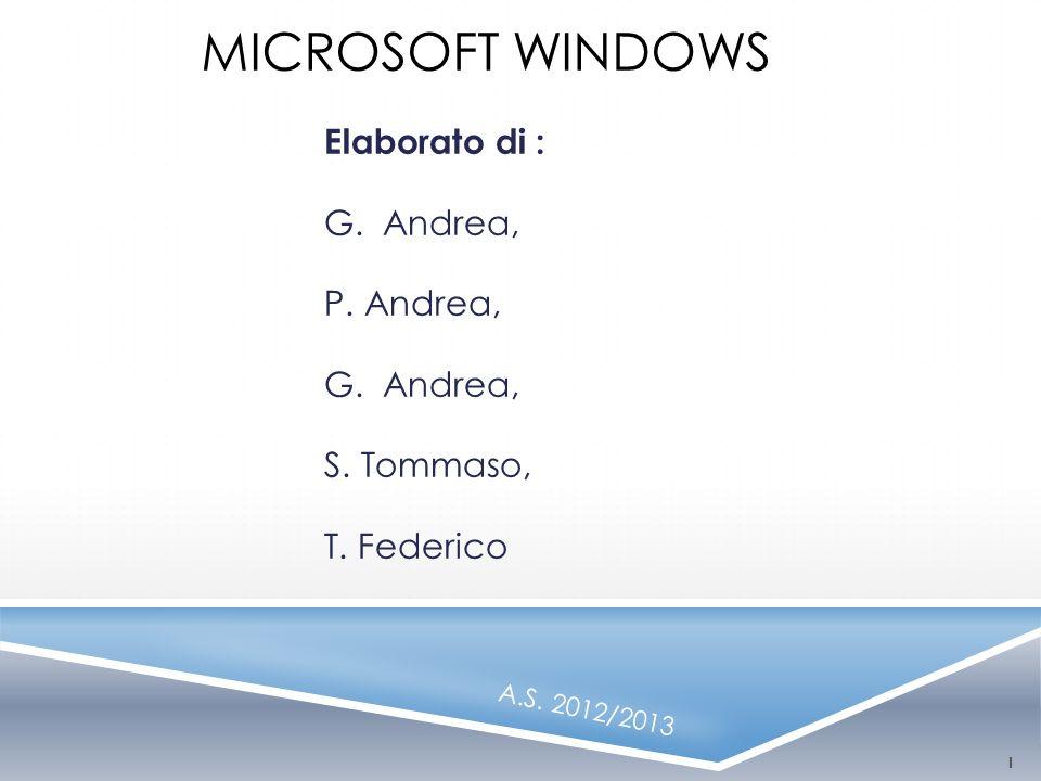 Elaborato di : G. Andrea, P. Andrea, S. Tommaso, T. Federico
