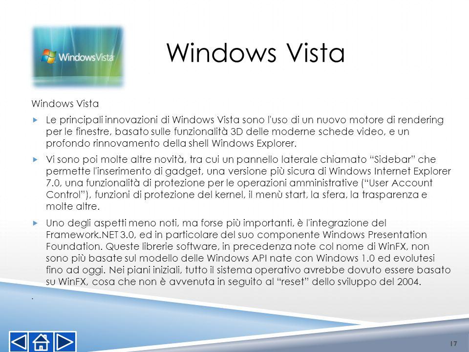 Windows Vista Windows Vista