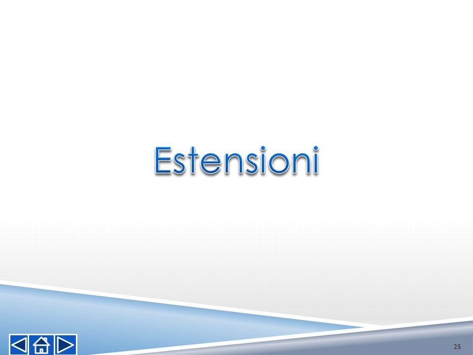 Estensioni