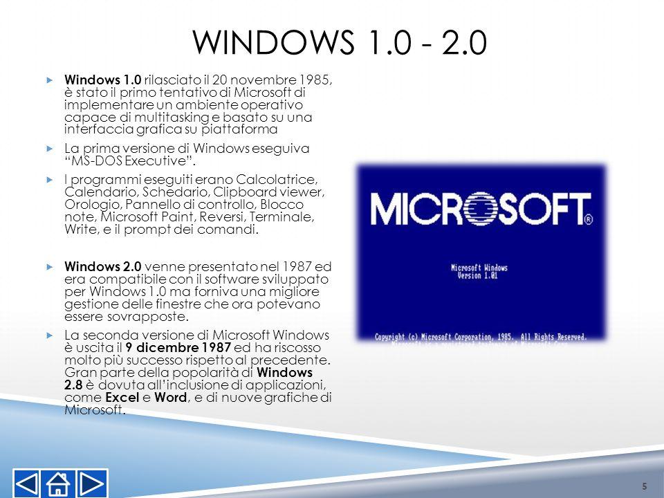 Windows 1.0 - 2.0