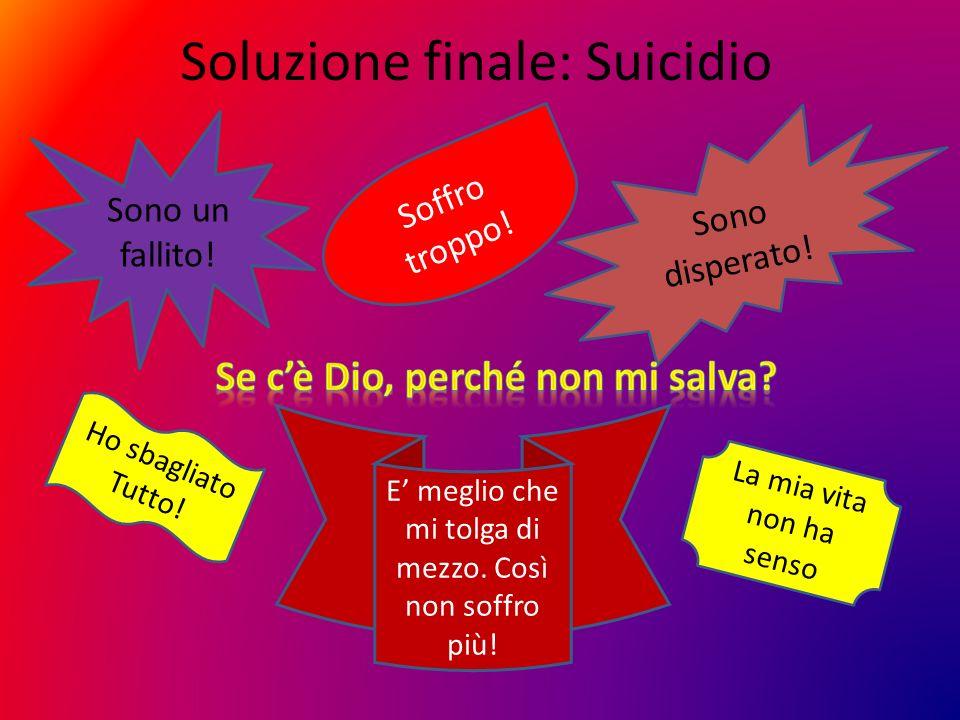 Soluzione finale: Suicidio