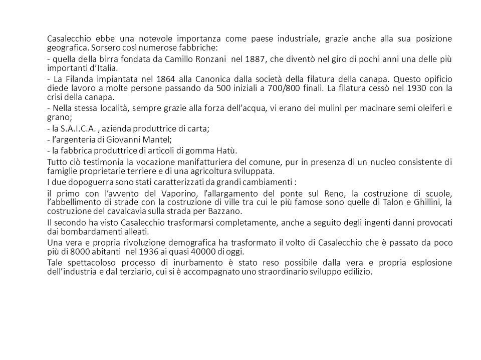 - la S.A.I.C.A. , azienda produttrice di carta;