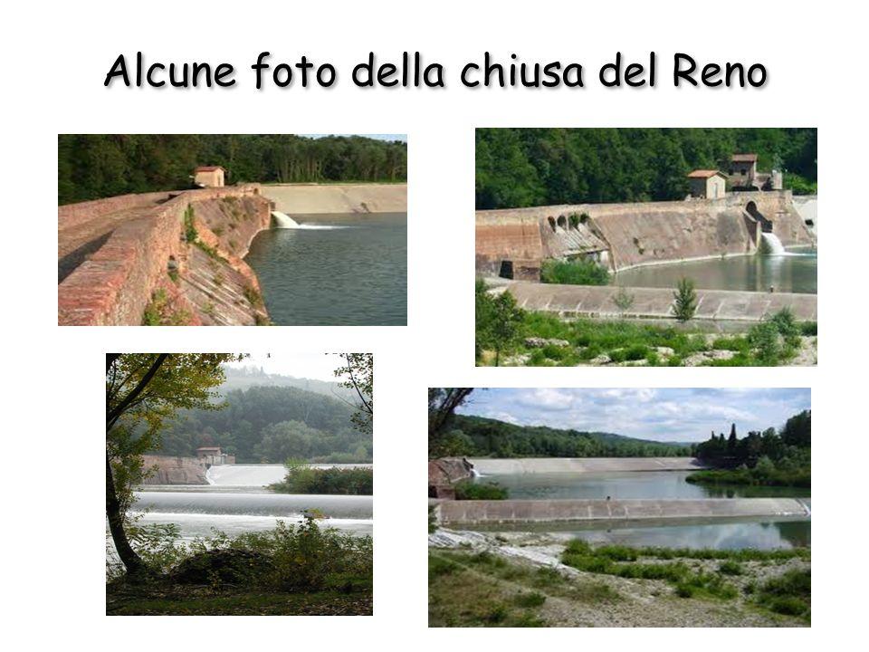Alcune foto della chiusa del Reno