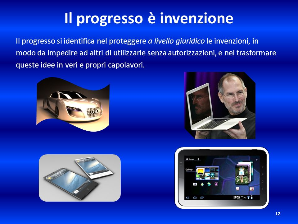 Il progresso è invenzione