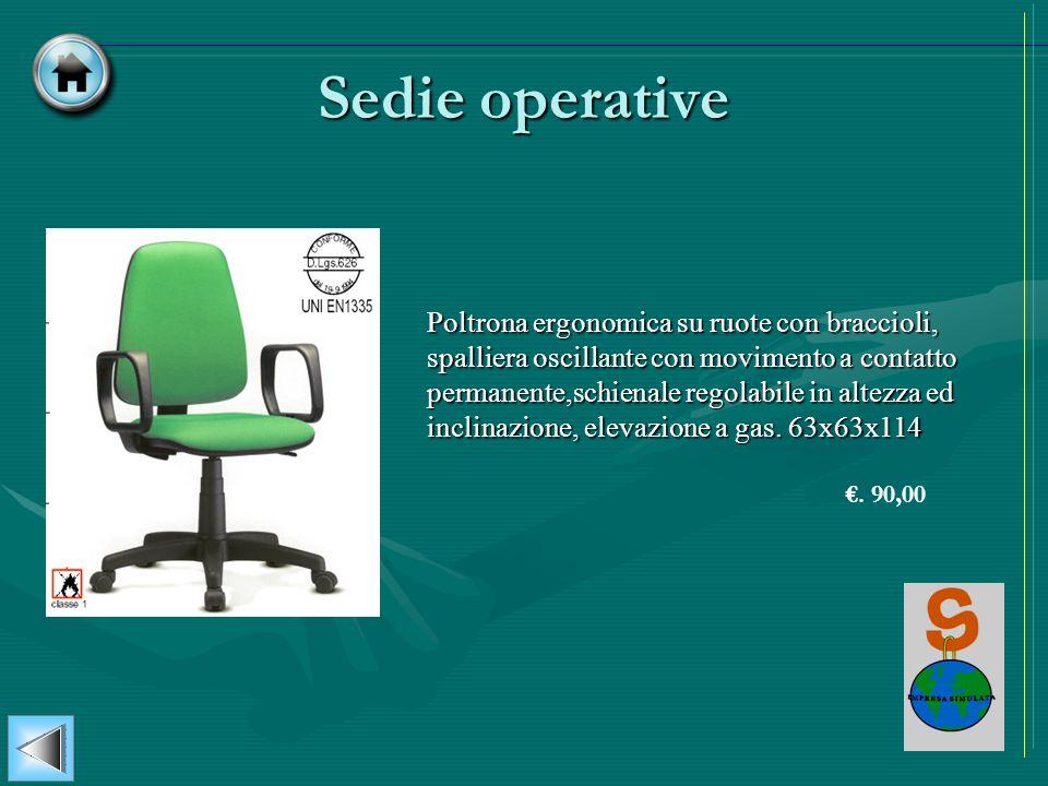 Sedie operative
