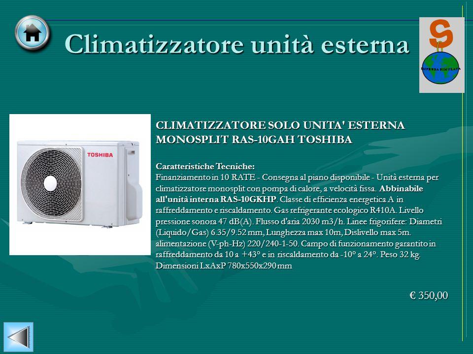 Climatizzatore unità esterna