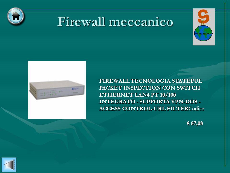 Firewall meccanico