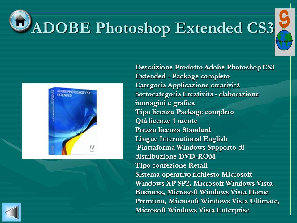 ADOBE Photoshop Extended CS3