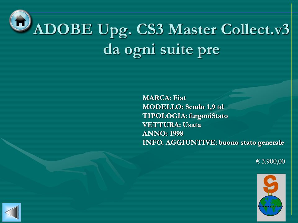 ADOBE Upg. CS3 Master Collect.v3 da ogni suite pre