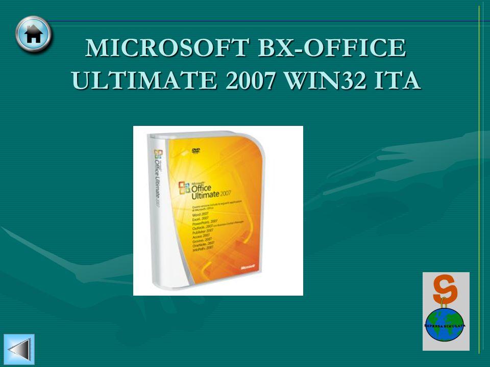 MICROSOFT BX-OFFICE ULTIMATE 2007 WIN32 ITA